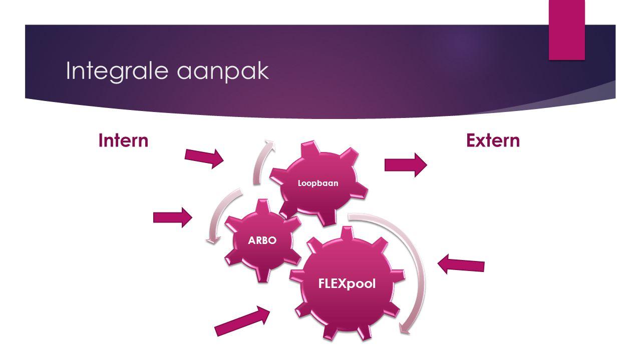 Integrale aanpak FLEXpool ARBO Loopbaan ExternIntern