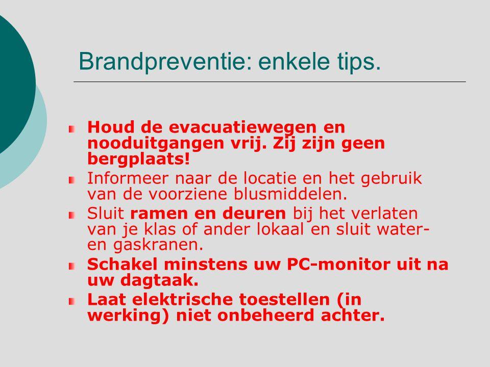 Brandpreventie: enkele tips.Laat elektrische snoeren niet rond slingeren.