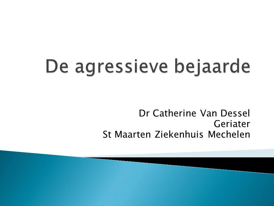 Dr Catherine Van Dessel Geriater St Maarten Ziekenhuis Mechelen