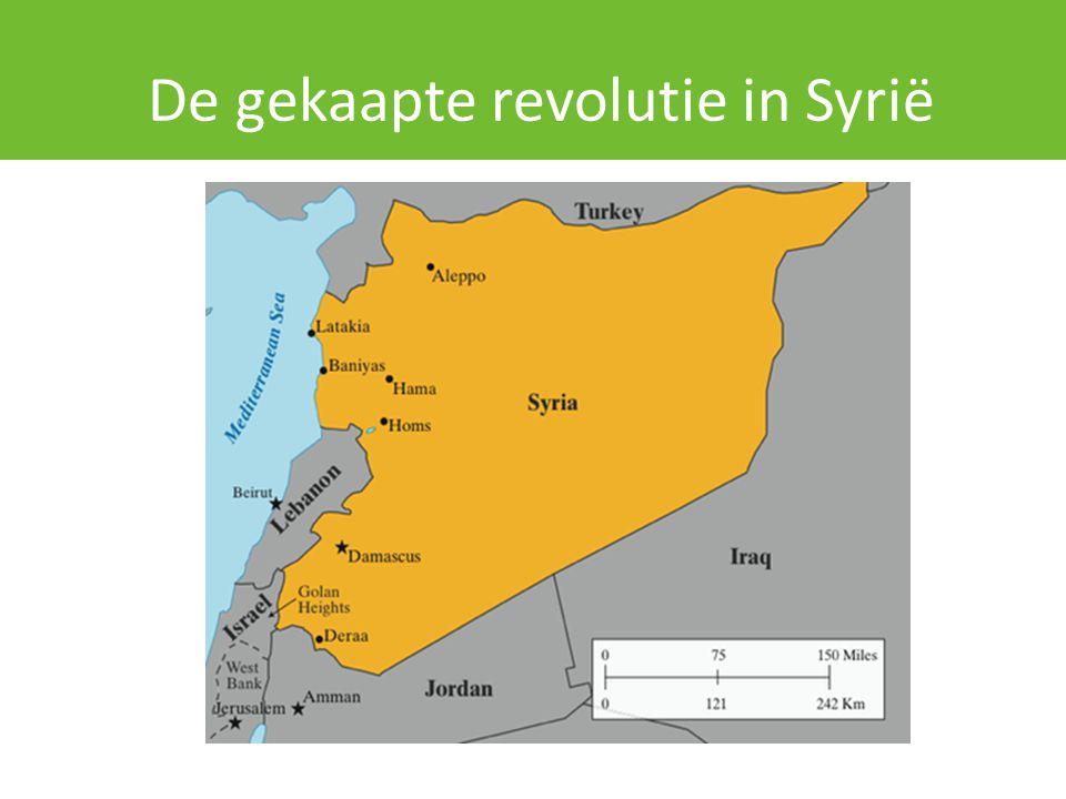 Rehabilitatie Assad De opmars van IS was onvoorspelbaar.