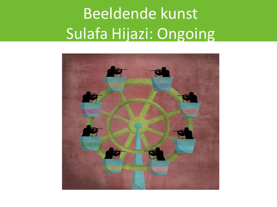 Beeldende kunst Sulafa Hijazi: Ongoing