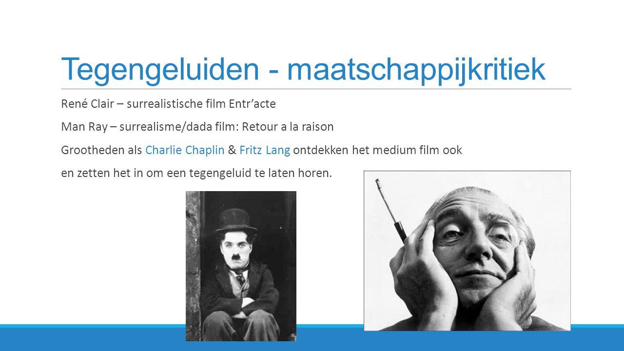 Metropolis (1926) – Fritz Lang  Duitse expressionistische sciencefictionfilm  http://www.youtube.com/watch?v=7j8Ba9rWhUg trailerhttp://www.youtube.com/watch?v=7j8Ba9rWhUg  futuristische wereld in 2026  enorme kloof tussen arm en rijk  wereld van werkers en denkers  Maatschappijkritiek & waarschuwing voor de toekomst  expressionisme: vervreemdende belichting; veel donkere scenes  http://www.youtube.com/watch?v=CPNaaogT8fs (arbeiders; Moloch) http://www.youtube.com/watch?v=CPNaaogT8fs