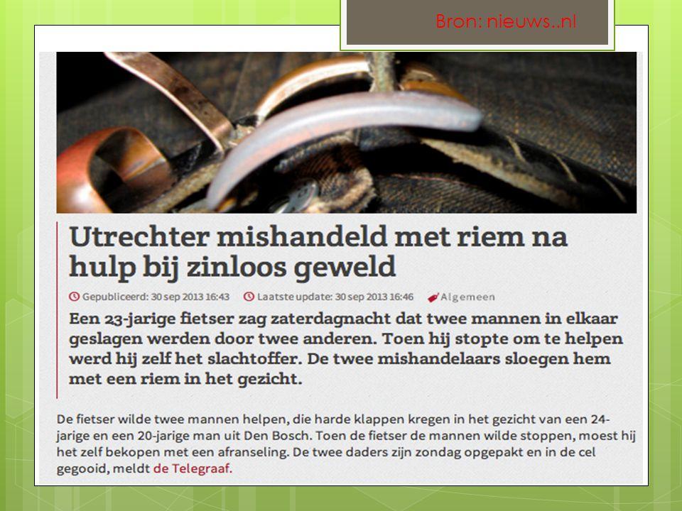 Bron: nieuws..nl