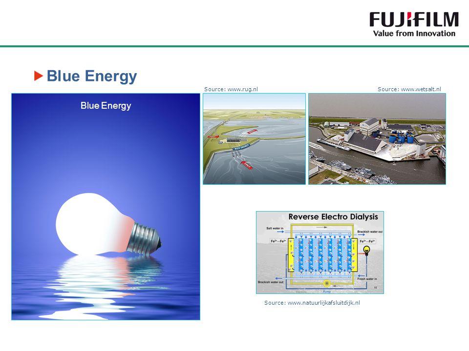 Blue Energy Source: www.rug.nlSource: www.wetsalt.nl Source: www.natuurlijkafsluitdijk.nl Blue Energy