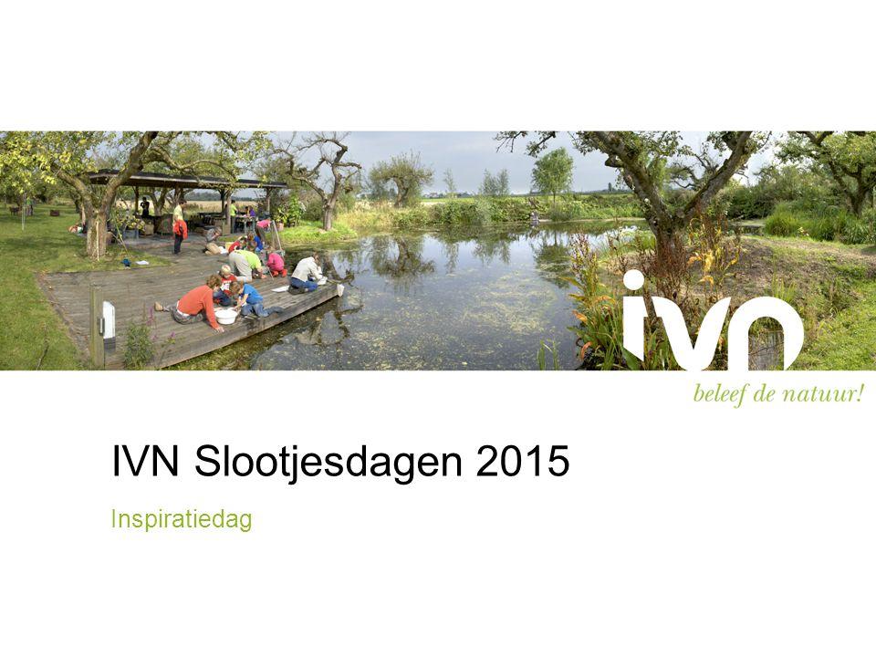 IVN Slootjesdagen 2015 Inspiratiedag