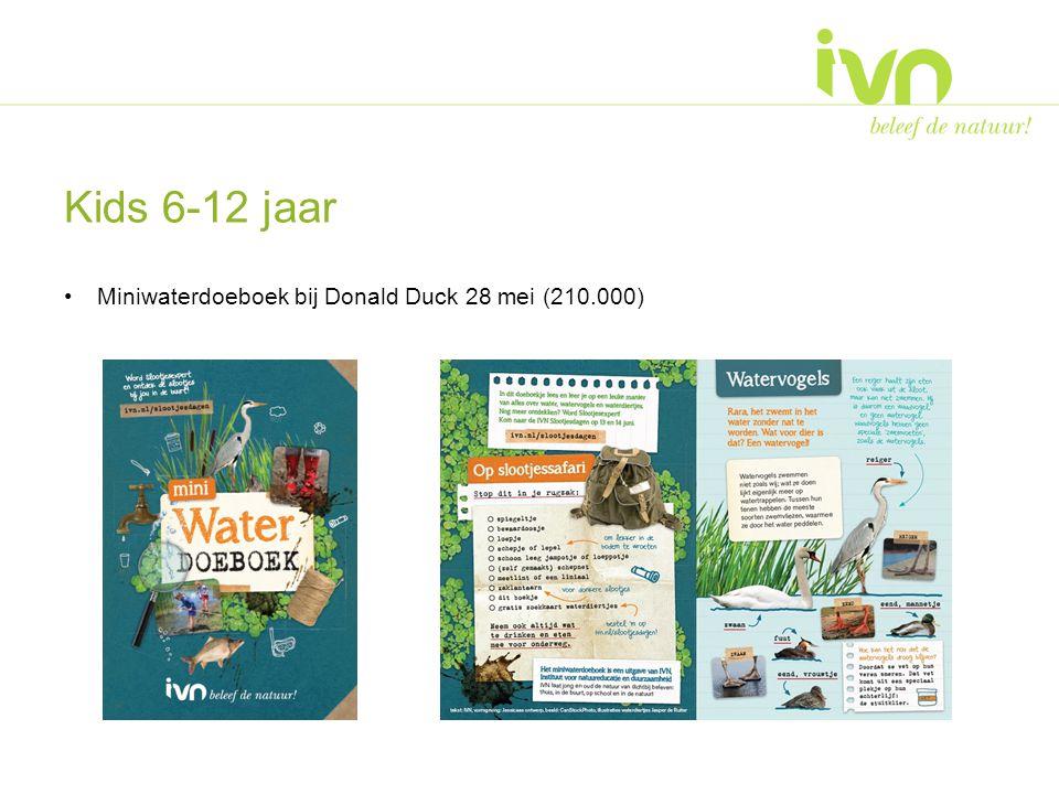 Kids 6-12 jaar Miniwaterdoeboek bij Donald Duck 28 mei (210.000)