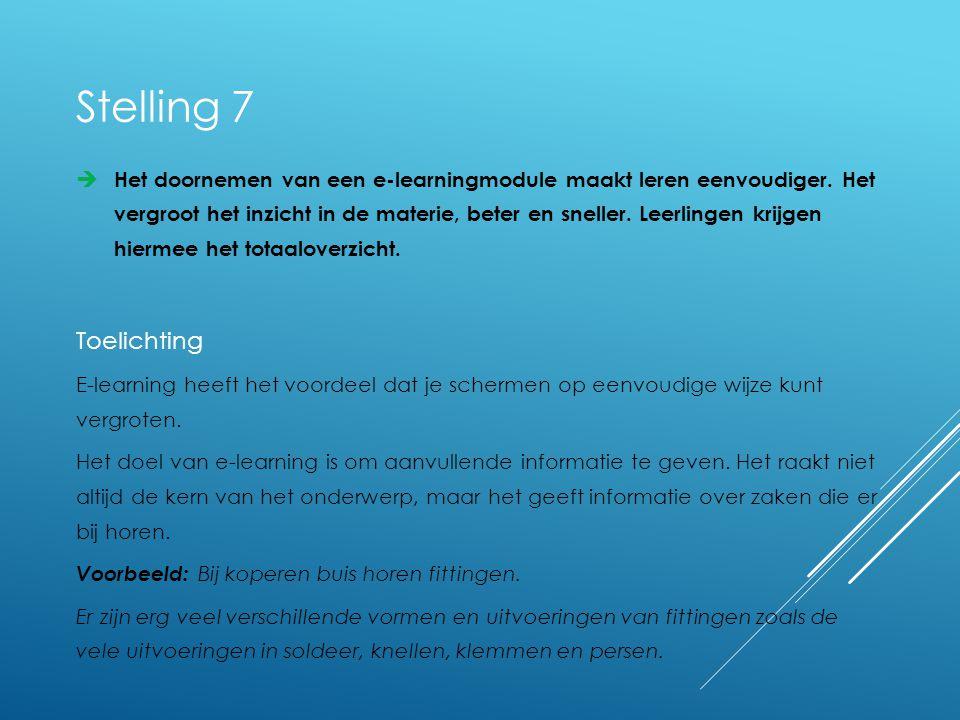  Het doornemen van een e-learningmodule maakt leren eenvoudiger.