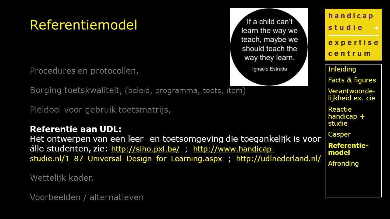 Klik om de stijl te bewerken Referentiemodel Inleiding Facts & figures Verantwoorde- lijkheid ex.