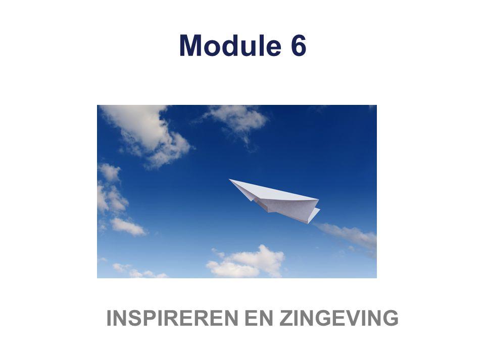 Module 6 INSPIREREN EN ZINGEVING