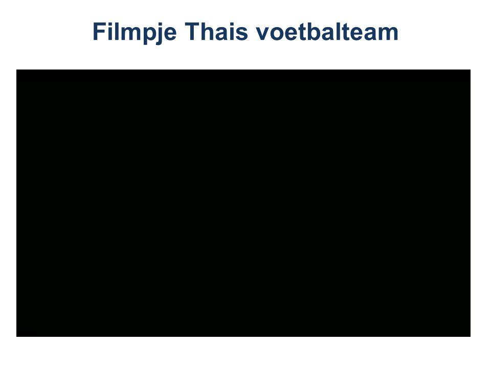 Filmpje Thais voetbalteam