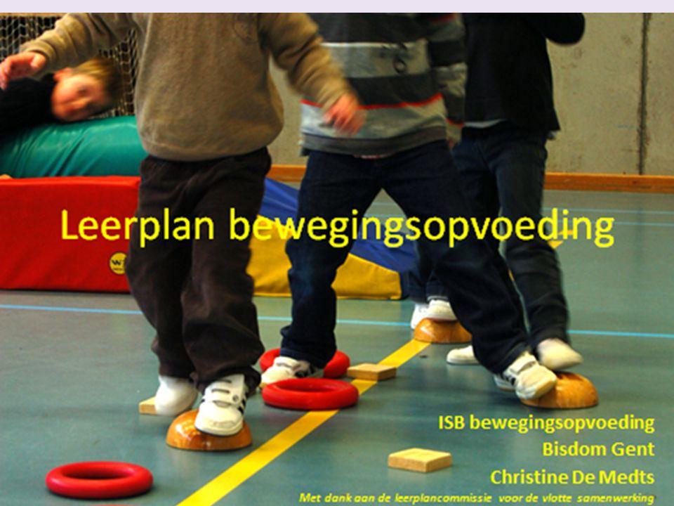 Leerplan bewegingsopvoeding ISB bewegingsopvoeding Bisdom Gent Christine De Medts