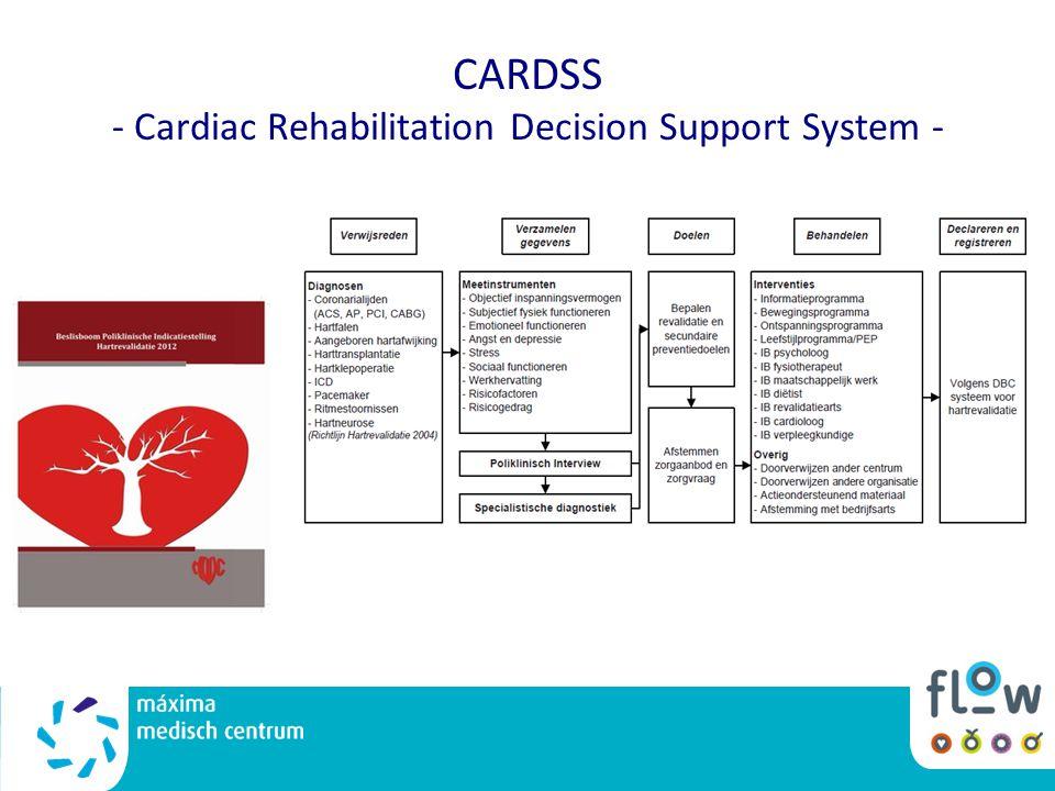 CARDSS - Cardiac Rehabilitation Decision Support System -
