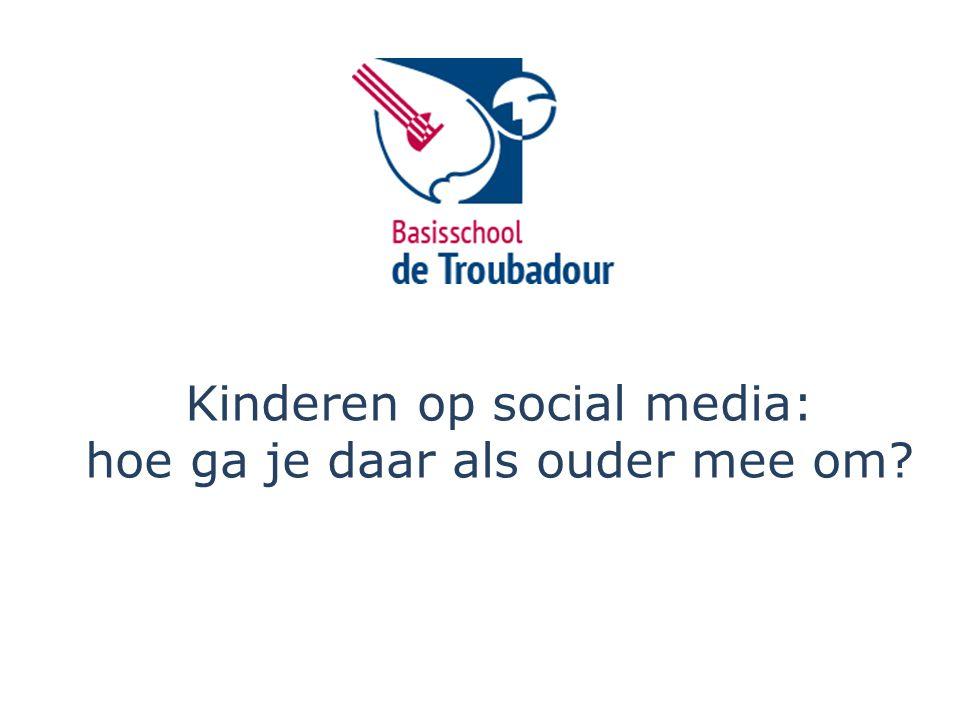 Kinderen op social media: hoe ga je daar als ouder mee om?