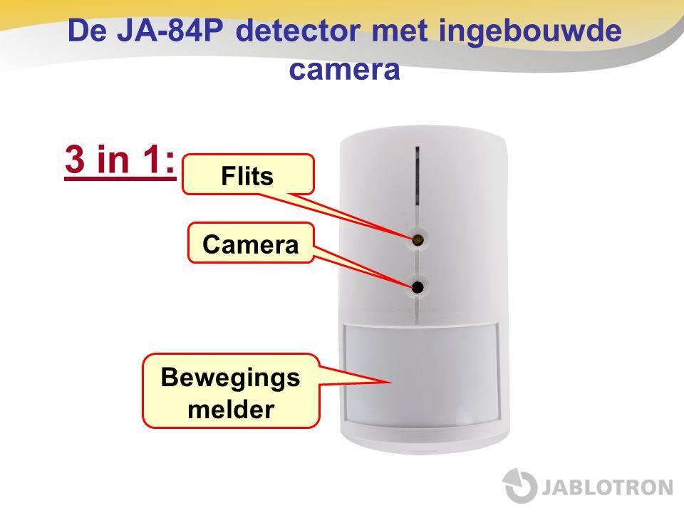 3 in 1: Flits Camera Bewegings melder De JA-84P detector met ingebouwde camera