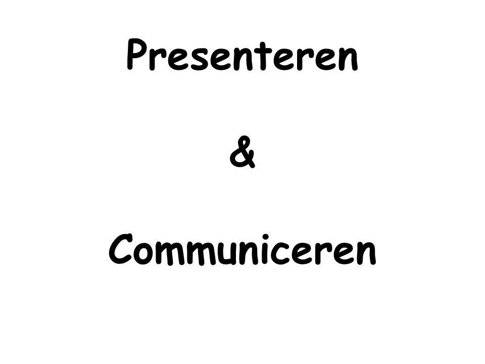 Presenteren & Communiceren