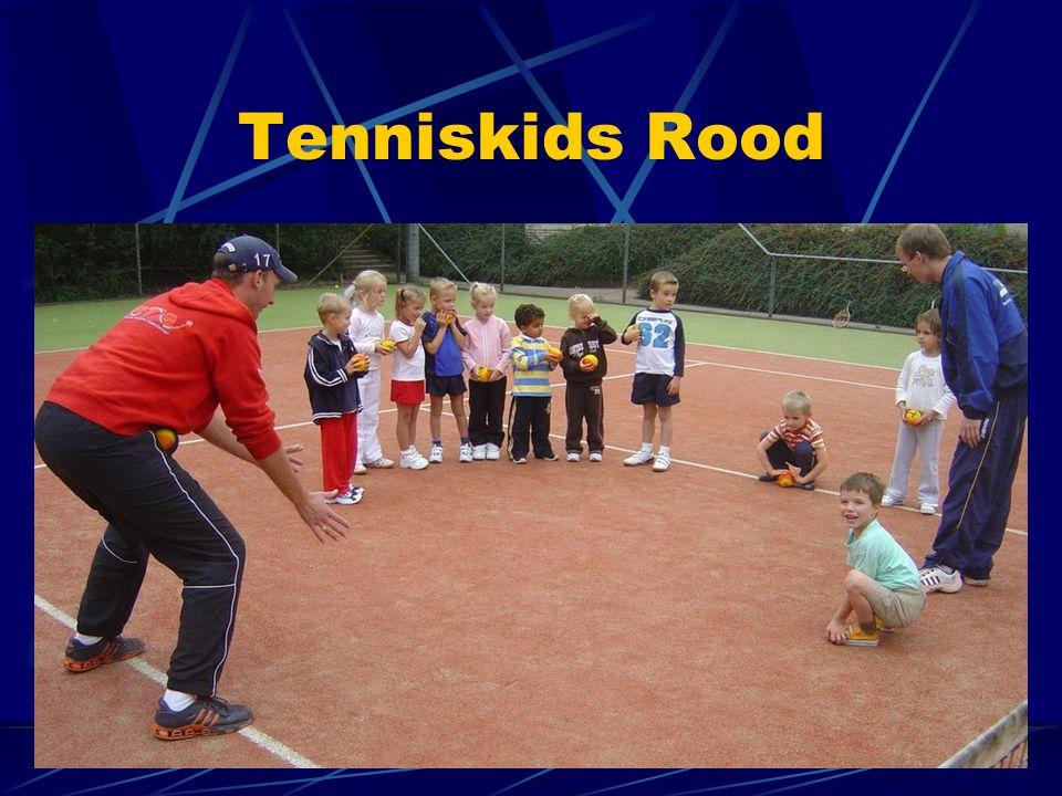Tenniskids Rood