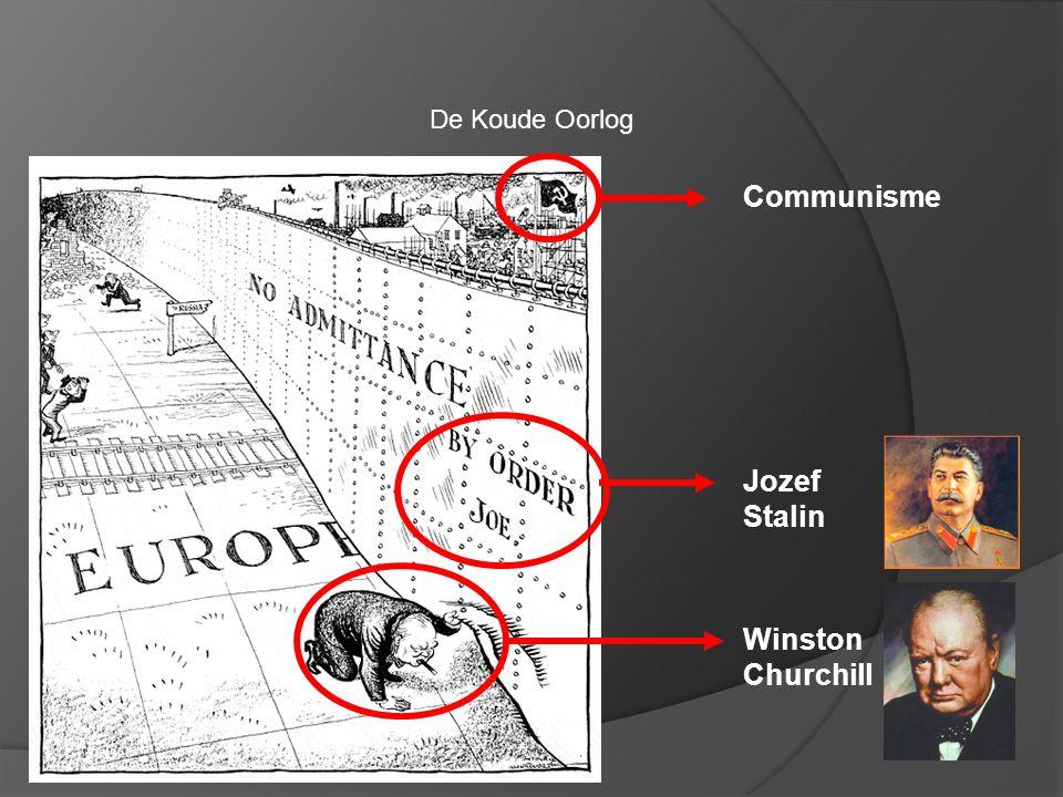 Communisme Jozef Stalin Winston Churchill