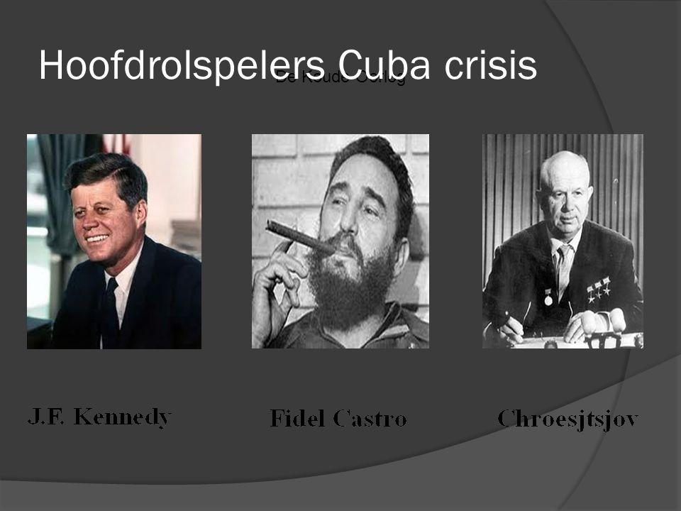 De Koude Oorlog Hoofdrolspelers Cuba crisis