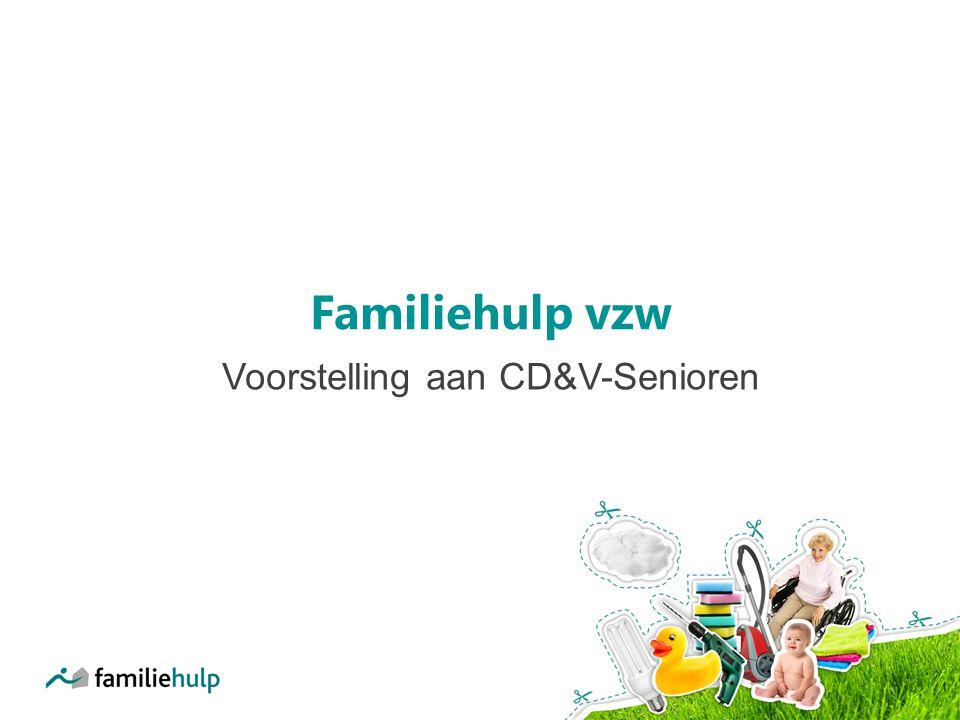 Familiehulp vzw Voorstelling aan CD&V-Senioren