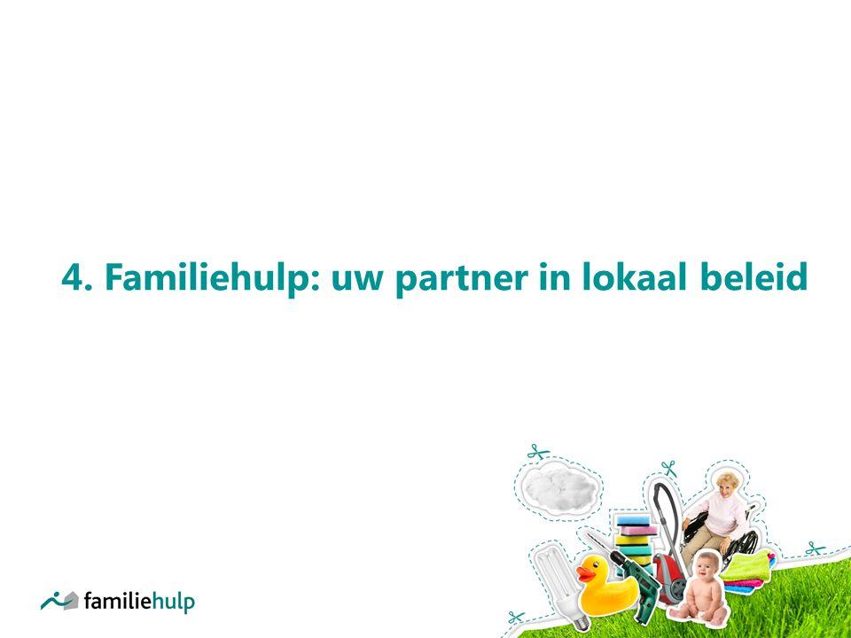 4. Familiehulp: uw partner in lokaal beleid