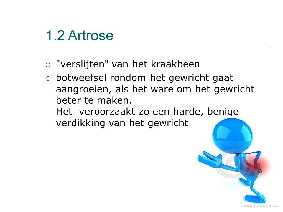 1.2 Artrose 