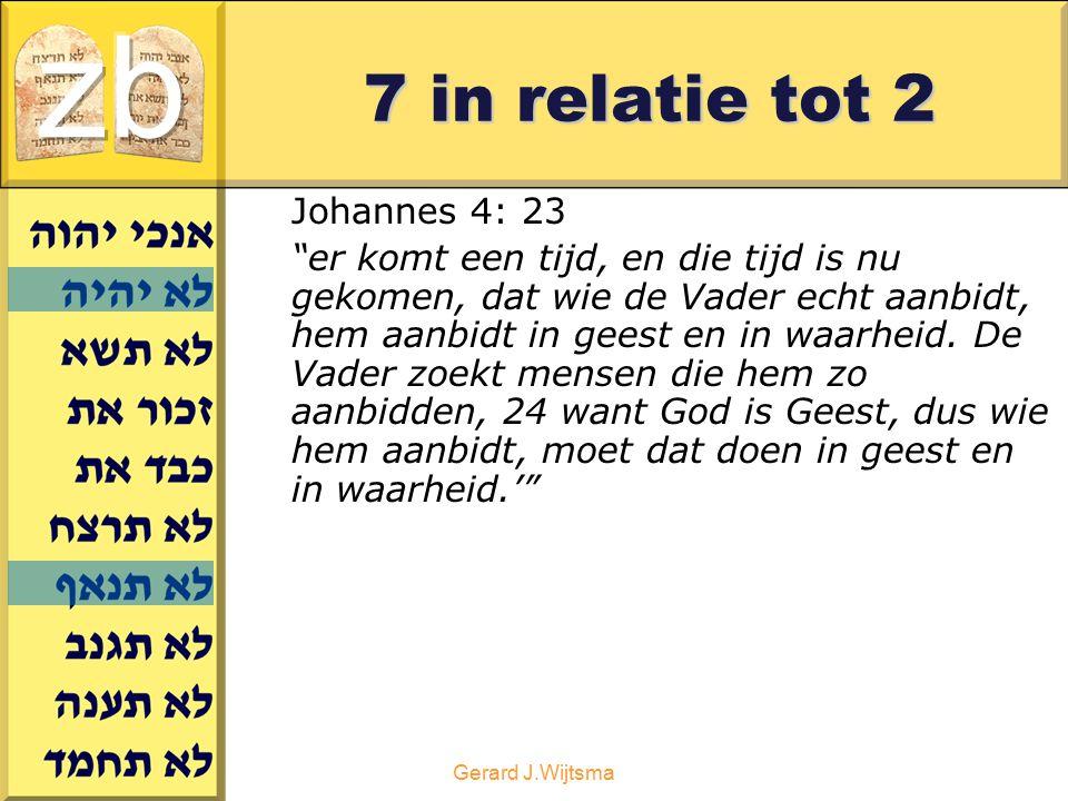 """Gerard J.Wijtsma 7 in relatie tot 2 Johannes 4: 23 """"er komt een tijd, en die tijd is nu gekomen, dat wie de Vader echt aanbidt, hem aanbidt in geest e"""
