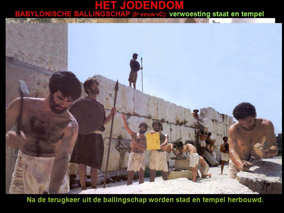 Leerdoel Jodendom: je kunt de basiskenmerken van het Jodendom herkennen: a. Je kunt een aantal Joodse verhalen in de goede volgorde zetten. NOACH: het