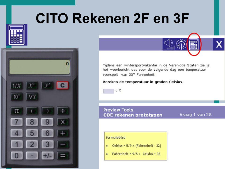 HoT CITO Rekenen 2F en 3F