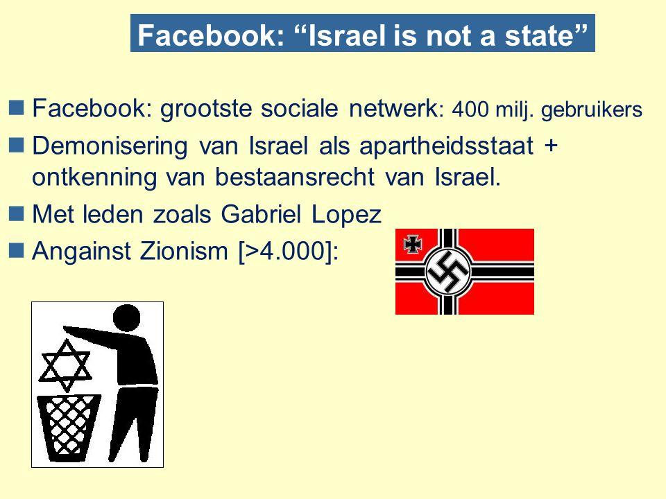 Antisemitisme 2.0 nSociaal antisemitisme gebruik van online sociale netwerken nInteractief antisemitisme  Delen van demonisering  de vuile/minderwaardige joden  Samenzweringstheorieën  de machtige/rijke joden  Holocaust ontkenning  de schuldige/leugenachtige joden nKlassieke antisemitische motieven  Cijfers over Antisemitisme vertonen dalende tendens