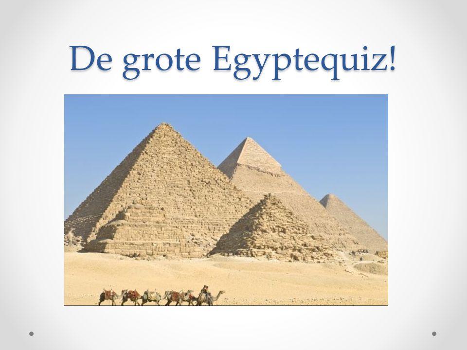 De grote Egyptequiz!