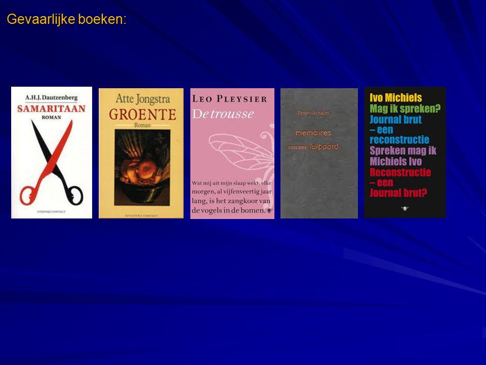 Gevaarlijke boeken:
