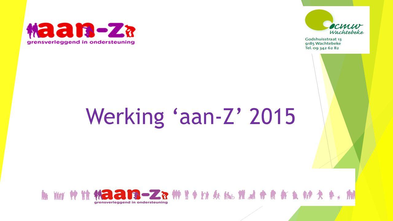 Werking 'aan-Z' 2015