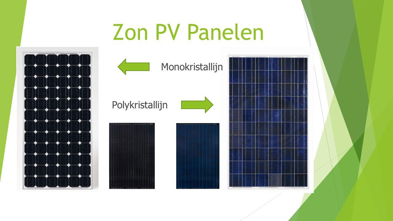 Zon PV Panelen Monokristallijn Polykristallijn