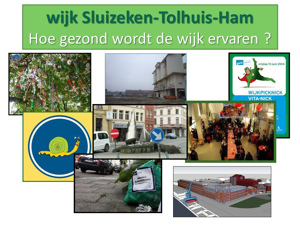 wijk Sluizeken-Tolhuis-Ham Hoe gezond wordt de wijk ervaren ?
