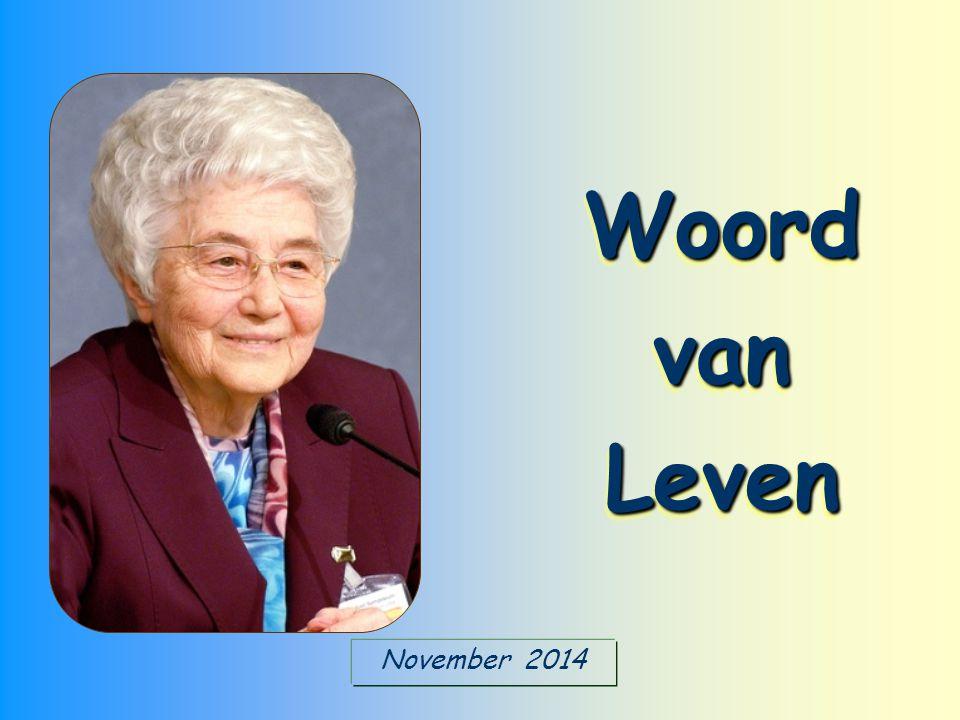 November 2014 Woord van Leven