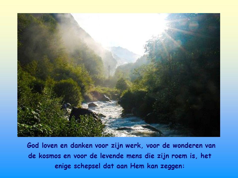 Een rijke waterbron is ook de aanwezigheid van God in ons.