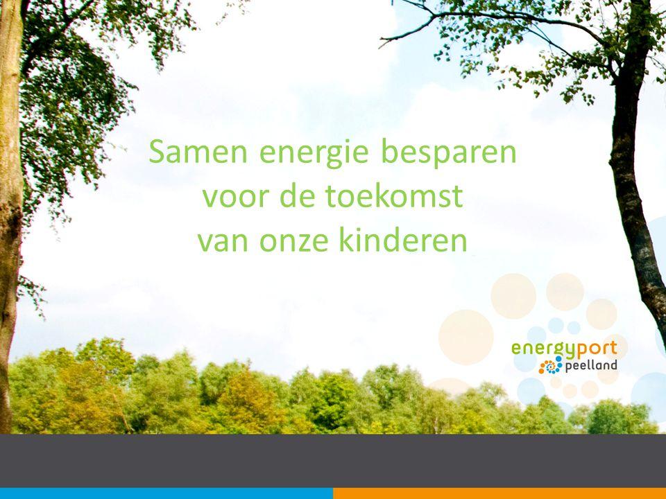 Samen energie besparen voor de toekomst van onze kinderen