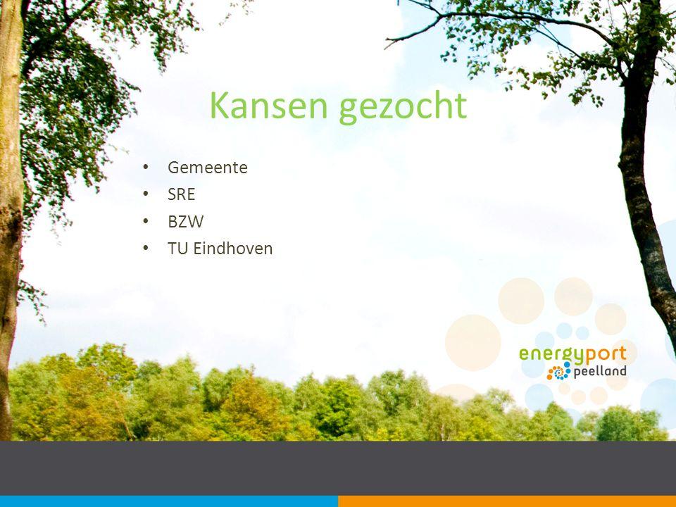 Kansen gezocht Gemeente SRE BZW TU Eindhoven