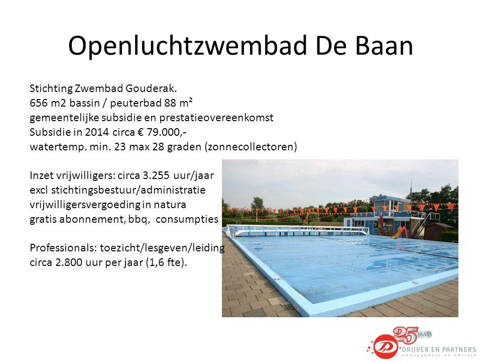 Openluchtzwembad De Baan Stichting Zwembad Gouderak.
