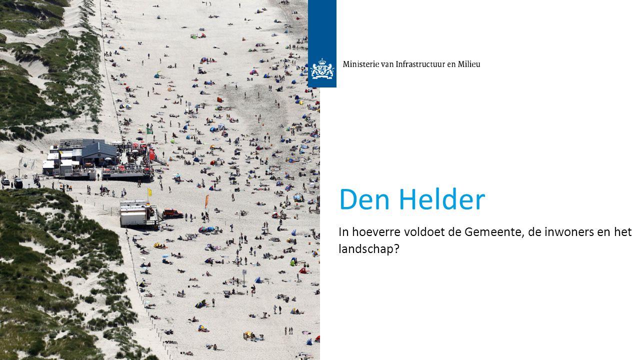 3 Den Helder In hoeverre voldoet de Gemeente, de inwoners en het landschap?