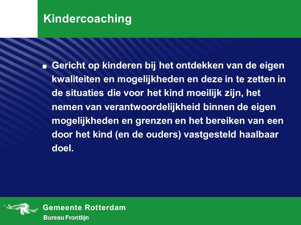 Bureau Frontlijn Kindercoaching.