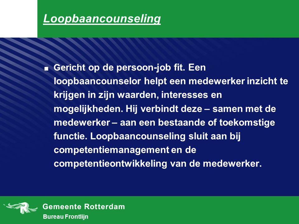 Bureau Frontlijn Counseling.Een laagdrempelige vorm van hulpverlening.