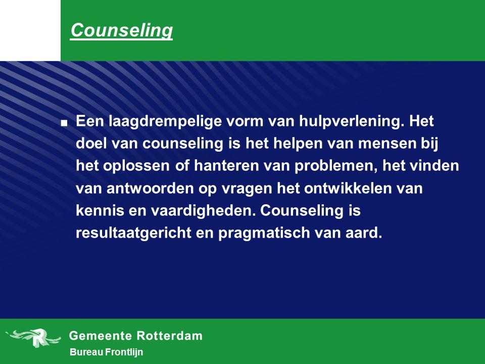 Bureau Frontlijn Systemic coaching.