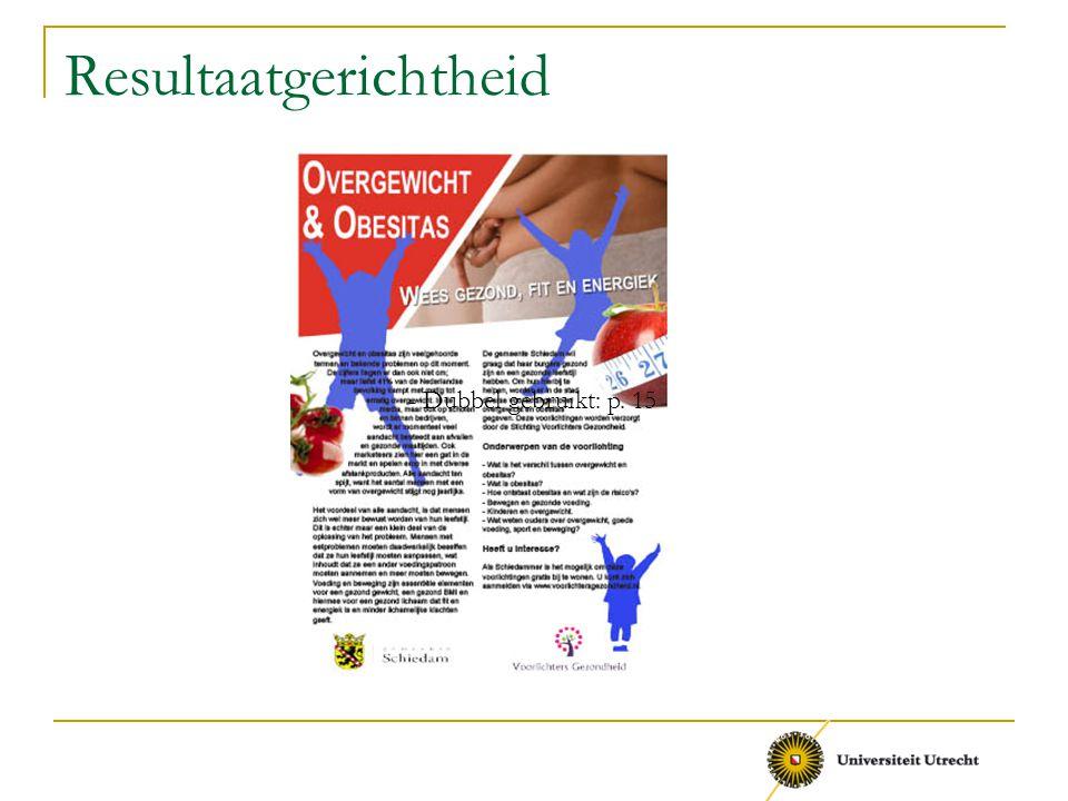 Resultaatgerichtheid - Dubbel gebruikt: p. 15