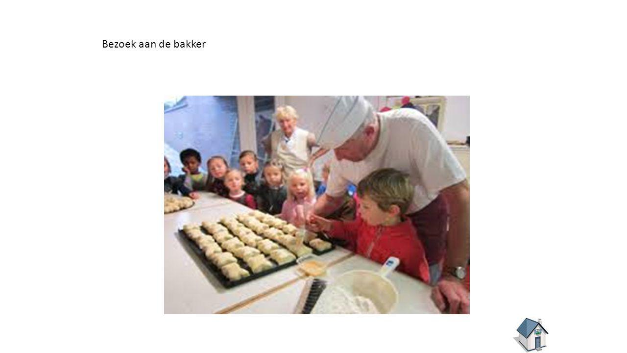 Bezoek aan de bakker