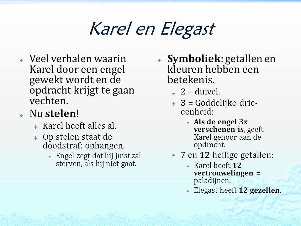 Karel de Grote  Paltsen Karel:  Hoofdburcht waar Karel slaapt.