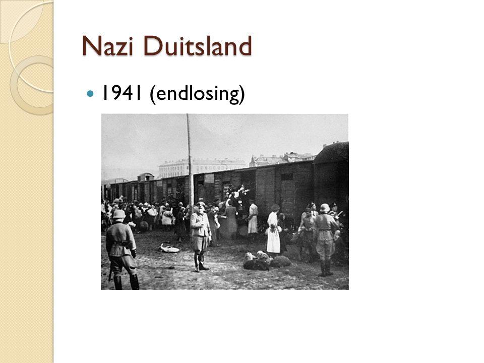Nazi Duitsland 1941 (endlosing) ◦ Endlosing