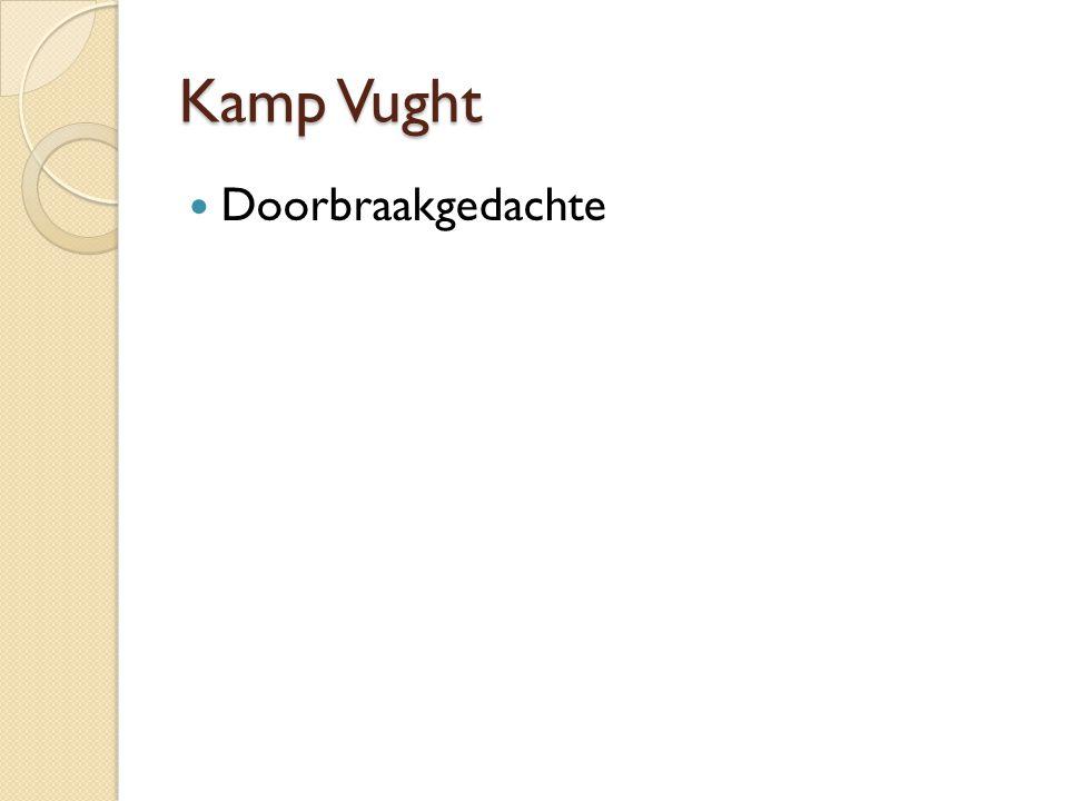Kamp Vught Doorbraakgedachte