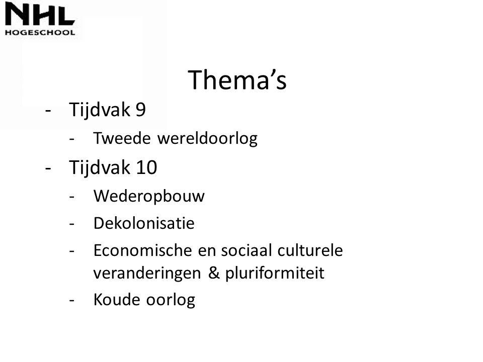 Vandaag ◦ B.9.4 De aspirant-student kan Europa en Nederland tijdens de Tweede Wereldoorlog beschrijven en voorbeelden van collaboratie, verzet en aanpassing van de Nederlandse bevolking noemen.