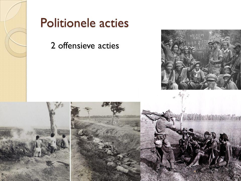 Politionele acties 2 offensieve acties